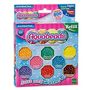AquaBeads AB79178 Jewel Assorted Bead Pack