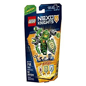 LEGO Nexo Knights Ultimate Aaron Building Kit (82 Piece)