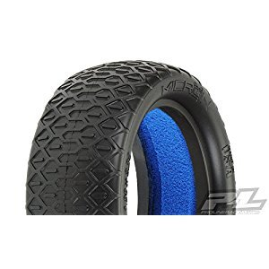 Proline 825117 Micron 2.2 4Wd Buggy Front MC Clay Off-Road Tires with Closed Cell Inserts