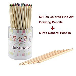 NIUTOP 65-color Art Colored Pencils/ Drawing Pencils for Adult Kids Artist Sketch / Secret Garden Coloring Book