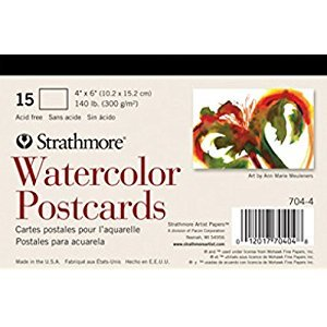 Strathmore Watercolor Postcard Paper Pad 4