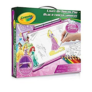 Crayola Princess Light-Up Tracing Pad