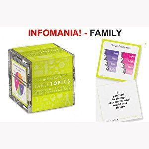 TABLETOPICS Infomania Family: Questions to Start Great Conversations