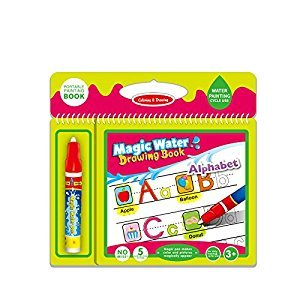 Tango ABC Water water Coloring Book with water pen for Kids Water Activity Book Paint With Magic Water Drawing Book for toddlers child toy gift