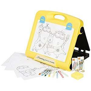Sambro Minions Travel Art Easel Craft Kit
