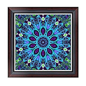 ULTNICE 5D DIY Diamond Embroidery Painting Cross Stitch Printing Craft Kits (Flower)