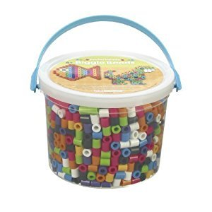 2 X Perler BIGGIE Fun Fusion Fuse Bead Bucket-Assorted Colors