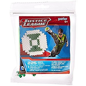 Perler Beads Green Lantern Activity Kit