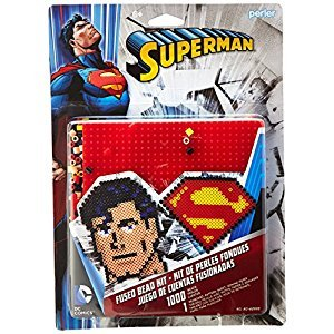 Perler Beads Superman 1000 Beads Activity Kit