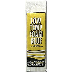 Low Temp Foam Glue Sticks (10)