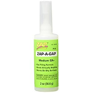 Pacer Technology (Zap) Pacer Technology (Zap) Zap-A-Gap Adhesives, 2 oz