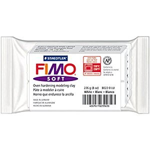 Staedtler 8022-0 LU Fimo Soft Oven-Bake Clay 8oz-White