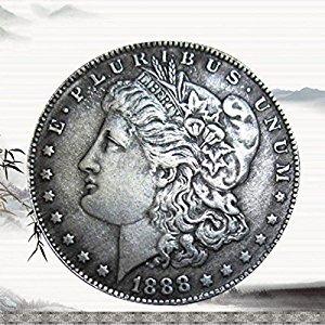 Giantree Coin Collecting, Dollar USA Old Original Pre 1921 Morgan Dollar(Collection Only)