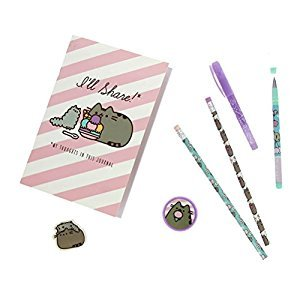 Official Licensed Pusheen Super Stationery Set - Cute Cat Stationery