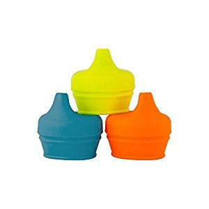 Boon Snug Spout, Green/Orange/Blue