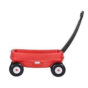 Little Tikes Lil' Wagon, Red. Ideal size for kids to pull along toys.
