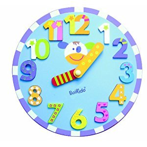 Boikido Wooden Clock Puzzle