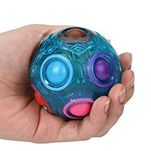 Rainbow Magic Ball Changeshopping Stress Reliever Plastic Cube Twist Puzzle Toys