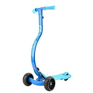 Fascol 3 Wheel Children Scooter Folding Kids Kick Scooter with Flashing Wheels for Boys/Girls Age 4 up, Blue