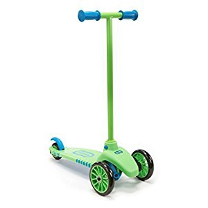 Little Tikes Lean to Turn Scooter Green/Blue Ride on