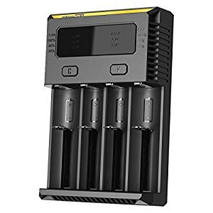 NiteCore JETBeam IntelliCharger 2nd Generation i4 Battery Charger