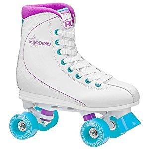 Roller Derby U725W-07 Women's Roller Star 600 Quad Skate, Size 07, White/Lavender