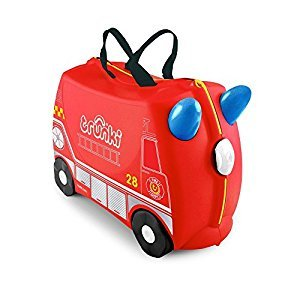 Trunki The Original Ride-On Frank Suitcase, Red