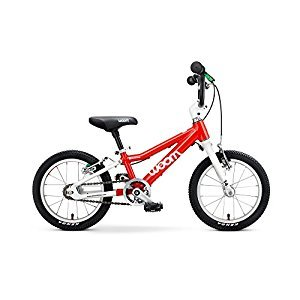 "Woom 2 Pedal Bike 14"", Ages 3 to 4.5 Years, Red"
