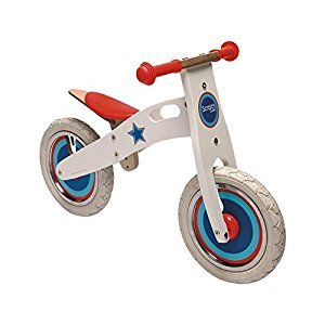 Scratch Star Balance Bike Sports Toy (White) by Scratch