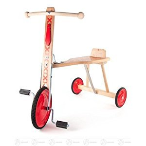 Toy tricycle height of approx. 58 cm ore mountains child tricycle