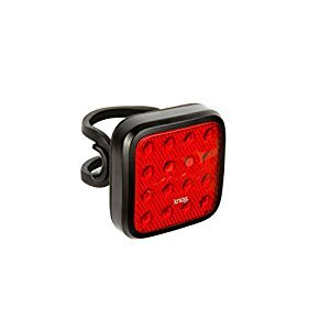 Knog Blinder Mob Kid Grid Rear USB Rechargeable Light, Black