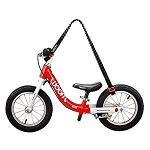 WOOM BIKES USA Balance Bike Carrier - Hands Frei, Red/Black