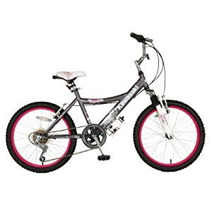 Kawasaki Kid's Bike, 20 inch Wheels, 12 inch Frame, Girl's Bike, Grey
