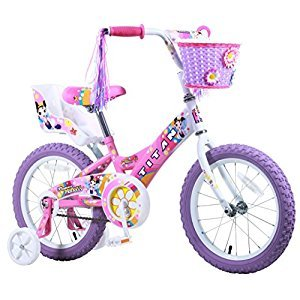Titan 081-8116 Girl's Flower Princess BMX Bike, Pink, 16-Inch