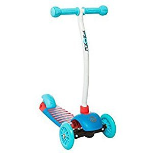 Ybike YGLX25 Kids GLX 2.0 Cruze 3 Wheel Kick Scooter, Blue