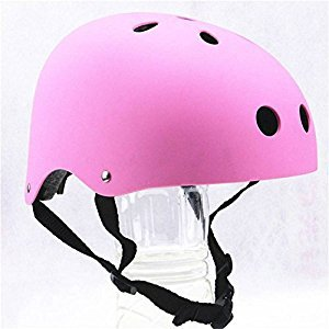 2017 New Design Pink Bicycle Cycling Kids Safety Street City Bike Helmets Protective Gear for Toddler Child Children,Outdoor Sports Firm Kids Helmet for Boys Girls Student Pupil Age 3-5-8