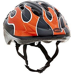 Bell Toddler Bellino Helmet, Burnt Orange Flames