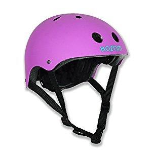 KaZAM 798304373707 Children's Multi-Sport Helmet, Electric Purple