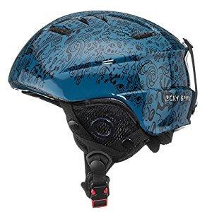 Lucky Bums Kid's Alpine Series Doodlebug Helmet, Slate, Medium/Large
