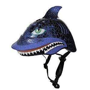 Raskullz Shark Attax Helmet (Black, Ages 3+)
