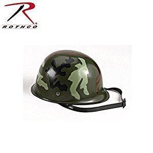 Rothco Kid's Camouflage Army Helmets, Woodland Camo