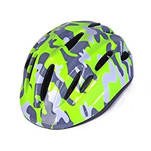 Toddler Kids Child Multi-sport Outdoor Light-weight Cycling Bike Bicycle Helmet Head Protective Gear with Adjustable Dial for Boys Girls Age 3-4 5-7 - Greenery