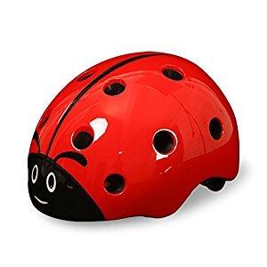 West Biking Kid's Chlid Ladybug Helmet for Cycling/ Skateboard/ BMX/ Skating Scooter