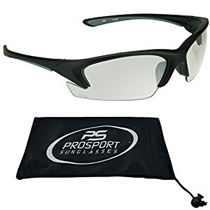 ANSI Anti Glare Clear Tint Safety Glasses for Sports Activities. Fit Small Head Sizes.
