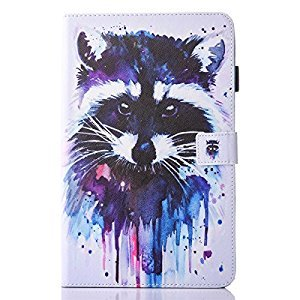 inShang T580/T585 Case for Samsung Galaxy TAB A 10.1 Inch T 580, With Color Painting Pattern, Stand Cover