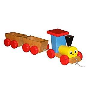ABA Pull-Along 2 Wagons Train