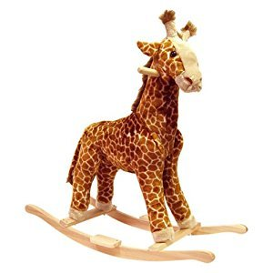 Happy Trails 80-86GIRAFFE Giraffe Plush Rocking Animal