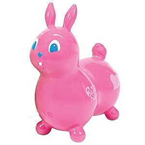 Ledraplastic Raffy The Rabbit Hop and Ride, Pink