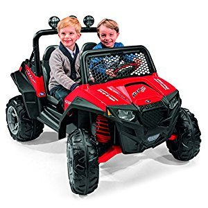 Peg Perego IGOD0066 12V Polaris RZR 900 Red