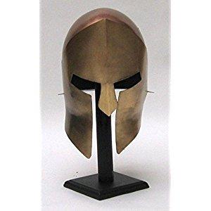 300 Armor Helmet ~ Medieval Knight Crusader Spartan ~ Steel Armer A